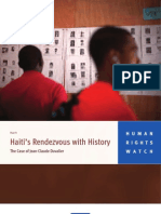 Haiti's Rendez-Vous With History - The Case of Jean-Claude Duvalier