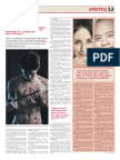 The Nanyang Chronicle - Aug 2011 - Interview with the stars and director of theatre play, Equus