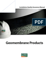 GSE Installation Quality Assurance Manual