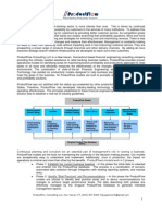 ProductFlow Conslting LLC, Retail Banking Productivity Consultants