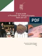 PROVEDOR JUSTIÇA EUROPEU