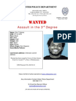 Town of Ulster's Wanted
