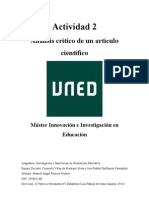 Actividad 2 Innovación e investigación en orientación educativa