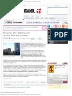 Bolognini, Idv e Sel attaccano «I conti 2010 non tornano» - L'Eco di Bergamo