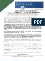 110919 Reverse Offering Press Release FINAL