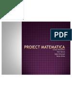 Proiect Matematica
