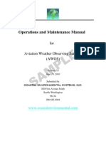 AWOS Sample Manual