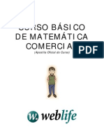 Curso Basico de matematica Comercial