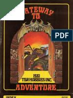 1981 TSR Catalog