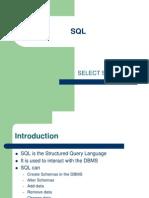 Lecture SQL 1