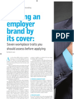 Judging An Employer Brand By Its Cover -  written by Roderick Lewis