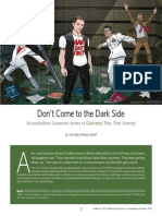 Acquisition Lessons from the Dark Side