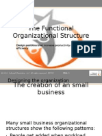 The Organizational Structure-Presentatie