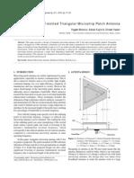 Triangular Patch Antenna 1