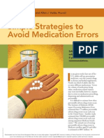 AAFP 2007_Simple Strategies to Avoid Med Error