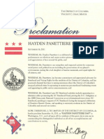 Hayden re Day Proclamation