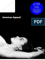 American Apparel Catalogue