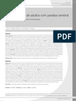 Caracterizacao de Adultos Com Paralisia Cerebral - Margre 2010