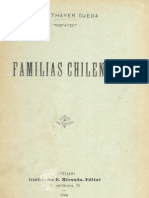 Familias Chilenas. Thayer Ojeda