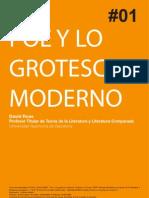 Poe y Lo Grotesco Moderno