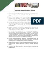 ABC de La Reforma Constitucional a La Justicia77