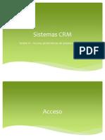 Uninter - CRM - Sesion 11 - Acceso, Preferencias de Usuario e Interface