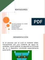 sedimentadores