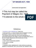 Wages Payment