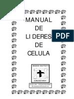 Manual de Lideres de Celula I