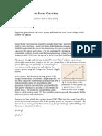 A Primer on Power Factor Correction