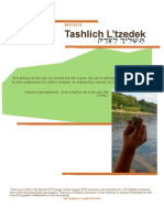JVP Tashlich L'Tzedek 2011