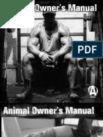 Animal Owner's Manual