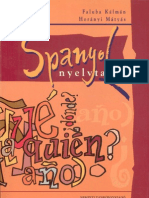 Faluba-Horányi - Spanyol nyelvtan