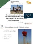 Instrumentações Aplicadas em Fundações