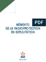 EDF - Mémento de radioprotection