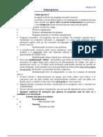 Módulo 05 - Subprogramas