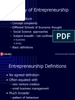 Ch.1 the Study of Entrepreneurship