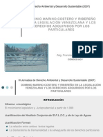 Arreaza, Dominio Marina Costero y Ribereno