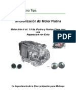 Sincronización del Motor Platina