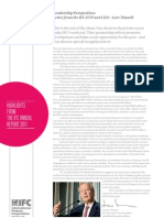 Highlights from IFC's 2011 Annual Report