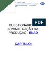 CAP-I-Questionário de ADM