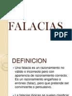 FALACIAS LOGICAS
