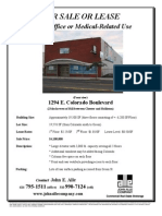 1294 E. Colorado Blvd, Pasadena | for Sale or Lease