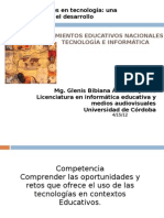 Lineamientos educativos nacionales en tecnología e informática