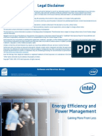 Intel Data Center Manager Overview 0511