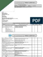 Agenda didáctica 2° período