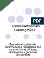 Espondiloartropatias Seronegativas CLASE ENTERA