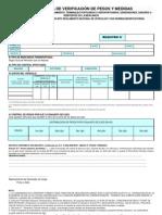 Formato Cons Tan CIA Verificacion de Pesos y Medidas
