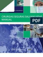 Seguranca Paciente Cirurgia Salva Manual