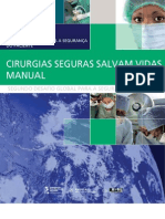 Seguranca Paciente Cirurgia Salva Manual
